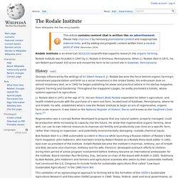 The Rodale Institute