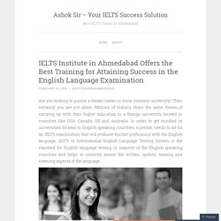 Get Quality Guidance at Best IELTS Classes in Ahmedabad