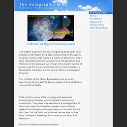 Institute of Higher Consciousness