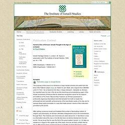The Institute of Ismaili Studies - Hamid al-Din al-Kirmani: Isma