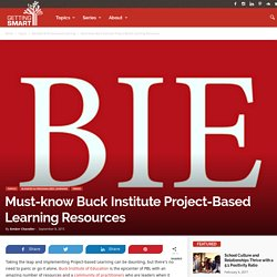 Must-know Buck Institute Project-Based Learning Resources