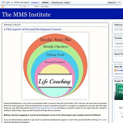 The MMS Institute: 4 Vital Aspects of Personal Development Courses