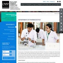 Top / Best Institute of B Pharmacy in Maharashtra