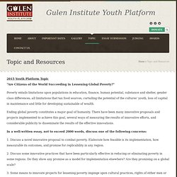 Gulen Institute Youth Platform