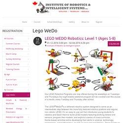 Lego WeDo - Institute of Robotics & Intelligent System