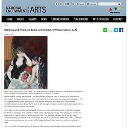 Spotlight: Sterling and Francine Clark Art Institute (Williamstown, MA)