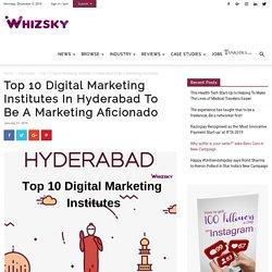 Top Digital Marketing Training Institutes In Hyderabad