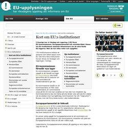 Kort om EU:s institutioner - EU-upplysningen vid Sveriges riksdag
