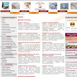 Site institutionnel du Haut-Commissariat au Plan du Royaume du Maroc