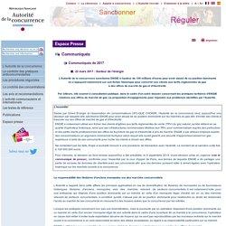 Site institutionnel de l'Autorité de la concurrence (France)