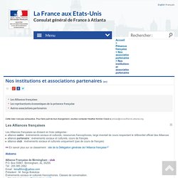 Nos institutions et associations partenaires - France in the Southeast region