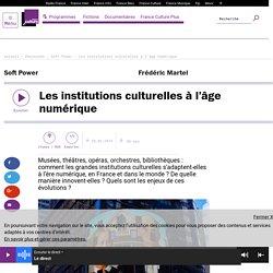 Les institutions culturelles à l'âge numérique