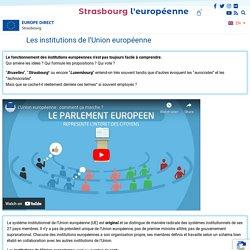 Les institutions de l'Union européenne