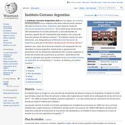 Instituto Coreano Argentino