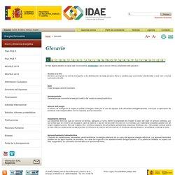 IDAE, Instituto para la Diversificacion y Ahorro de la Energía