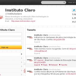 Instituto Claro (institutoclaro) on Twitter