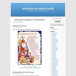 TH: Saint-Nicolas « Institutrice Maternelle