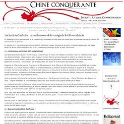 Les Instituts Confucius : un outil au cœur de la stratégie de Soft Power chinois