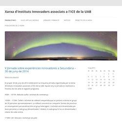 Xarxa d'Instituts Innovadors associats a l'ICE de la UAB