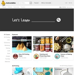 Classes - Instructables