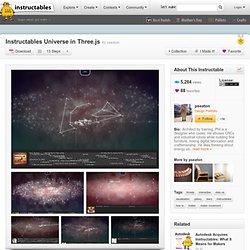 Universe in Three.js