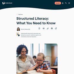 Structured Literacy: Best Practices for Evidence-Based Literacy Instruction