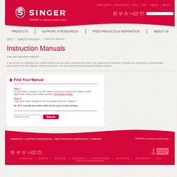 SINGER® SEWING CO.