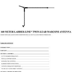 Instruction sheet for 160 M (rev c)