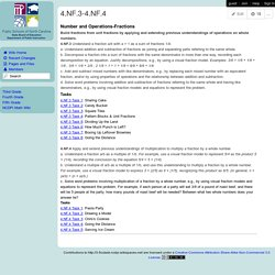 3-5 Formative Instructional and Assessment Tasks - 4.NF.3-4.NF.4