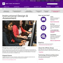 Instructional Design & Assessment