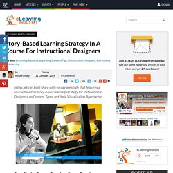 Story-Based Learning Strategy In A Course For Instructional Designers