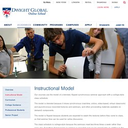 Online High School Diploma Courses Instructional Model