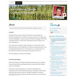 Instructional Design : Crafting Education