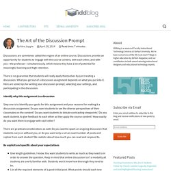 IDDblog: Instructional Design Tips, Advice, & Trends for Online & Distance Learning