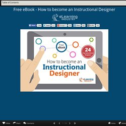 Free eBook - How to become an Instructional Designer