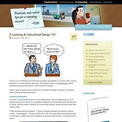 E-Learning & Instructional Design 101