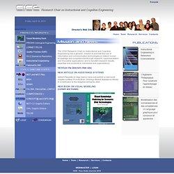 CICE - Chaire de recherche sur l'Ingénierie cognitive et éducative > Accueil - Nightly