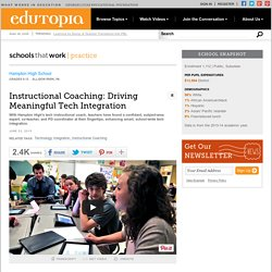Instructional Coaching: Driving Meaningful Tech Integration
