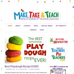 Make, Take & Teach | instructional materials for small group intervention