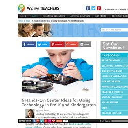 Technology Instructional Strategies for Pre-K and Kindergarten
