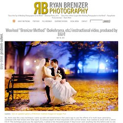 "Woo-hoo! ""Brenizer Method"" (bokehrama, etc.) instructional video, produced by B&H! » Ryan Brenizer — NYC Wedding Photographer. Problem solver, storyteller."