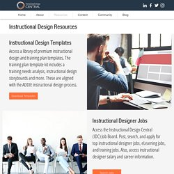 Instructional Design Central (IDC)