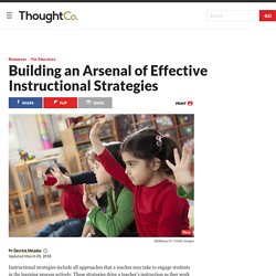 Effective Instructional Strategies That Boost Learning