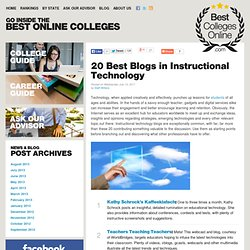 20 Best Blogs in Instructional Technology