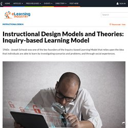 Instructional Design Models and Theories: Inquiry-based Learning Model