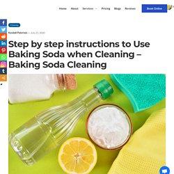 Instructions to Use Baking Soda – Baking Soda Cleaning