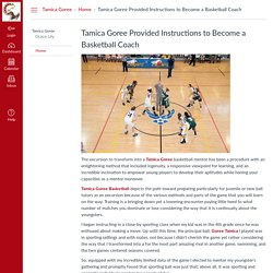 Tamica Goree Provided Instructions to Become a Basketball Coach: Home: Tamica Goree
