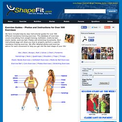 Bodyweight Exercises - Workout Guides with Instructions & Photos