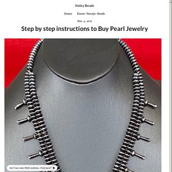 Step by step instructions to Buy Pearl Jewelry