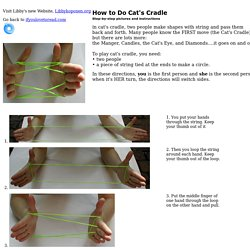 Cat's cradle instructions with step by step pictures ifyoulovetoread.com